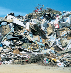 construction waste landfill